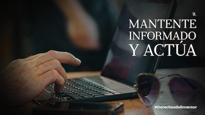 Derechos del inversor en fondos: Mantente informado y actúa
