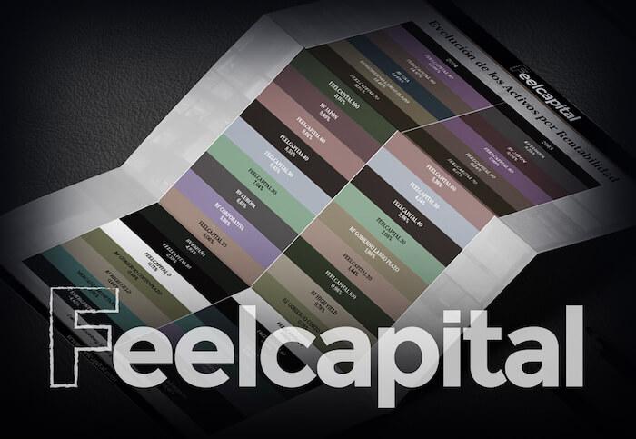 Evolución de las carteras de Feelcapital por rentabilidad