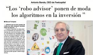 Entrevista a Antonio Banda, CEO de Feelcapital